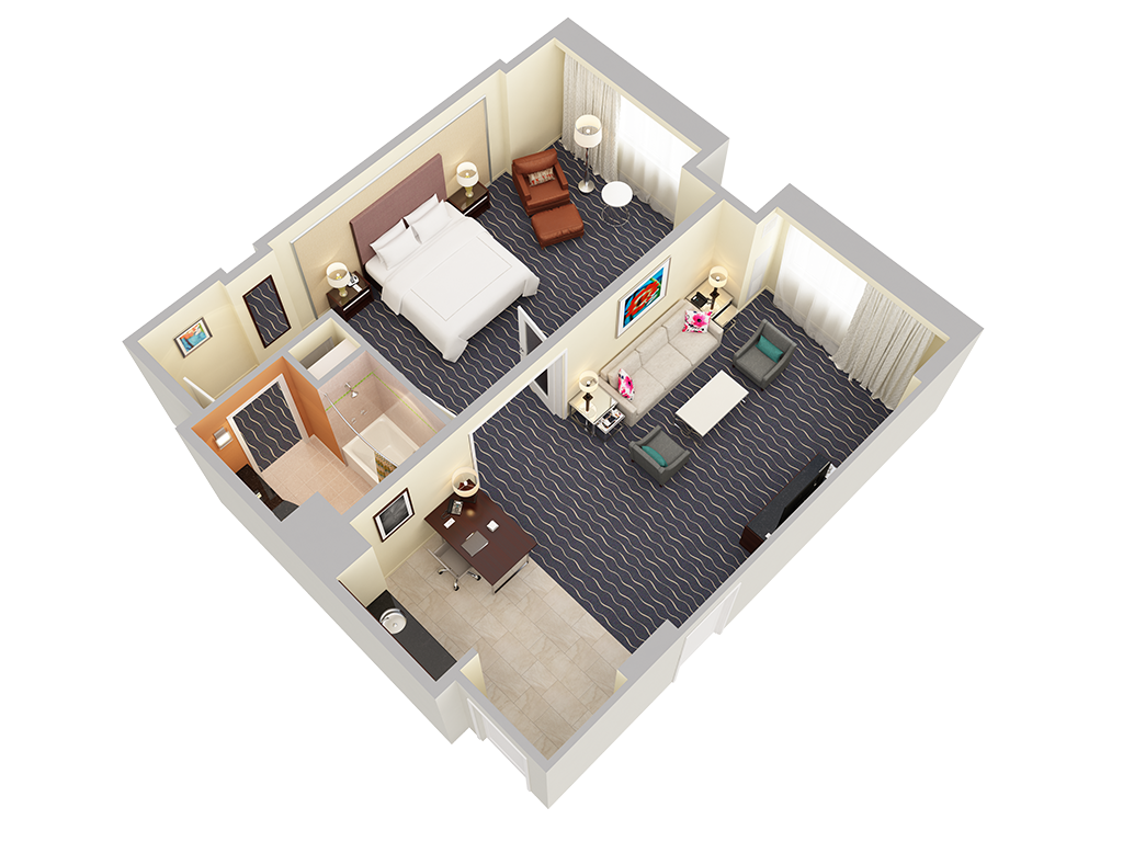 4 Bedroom Layout Plans
