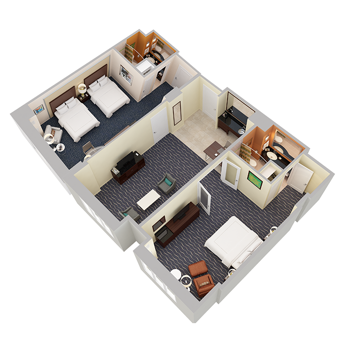 Two Bedroom Suite - View 1