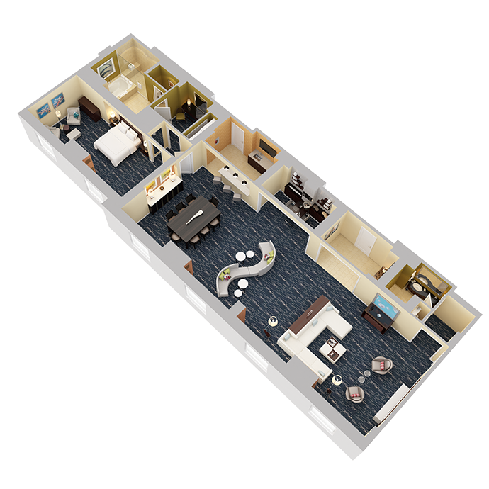 Presidential Suite (One Bedroom) - View 2