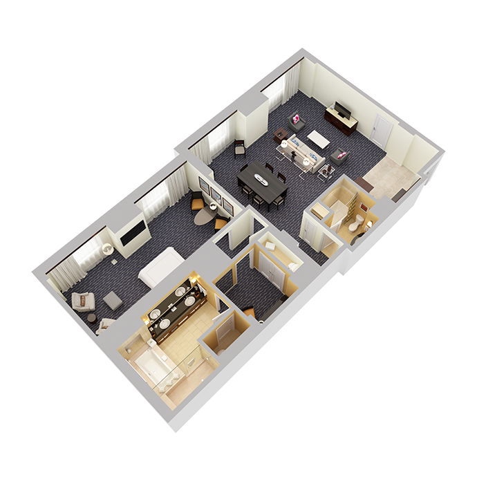 Signature Suite (One Bedroom) - View 1