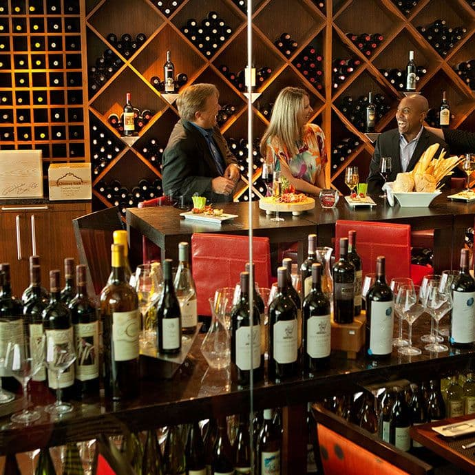 Wine Room available for private dining at Spencer's