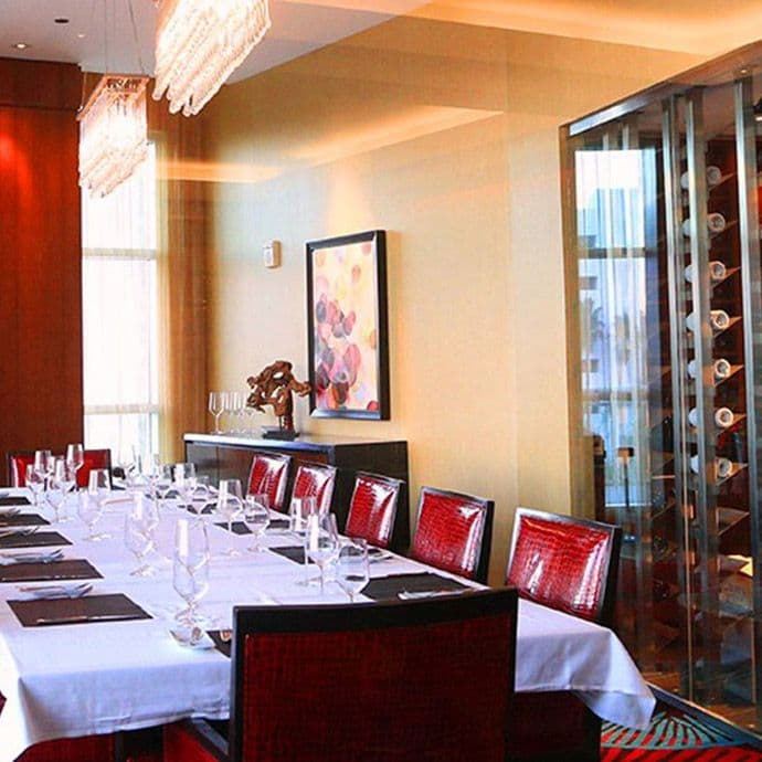 Private dining available at Spencer's