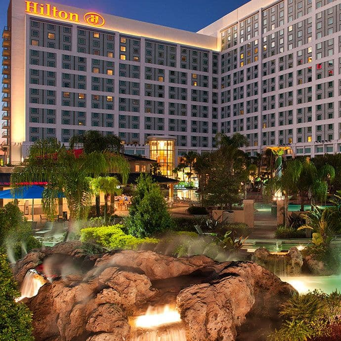 Hilton Orlando, located minutes from all theme parks