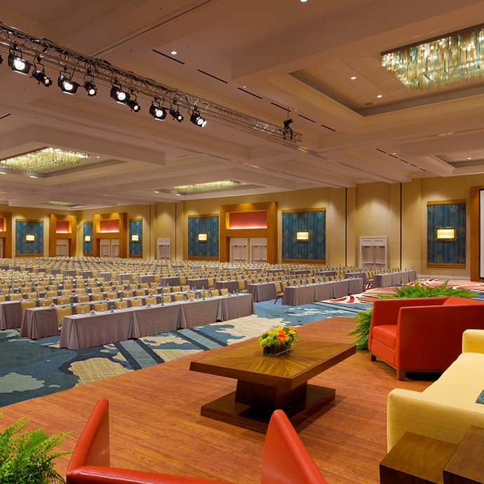 Orange Ballroom featuring 30,000 sq ft