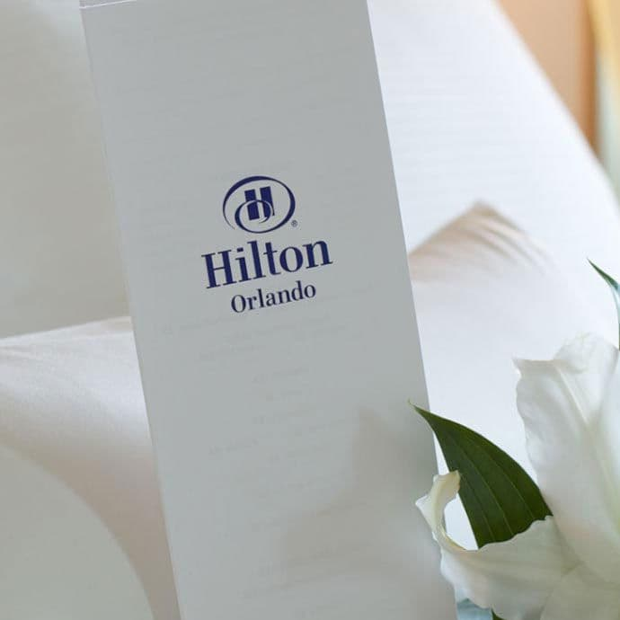 Hilton Orlando welcomes you to your guest room
