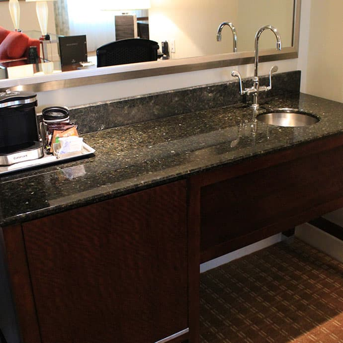 Wet Bar available in our suites