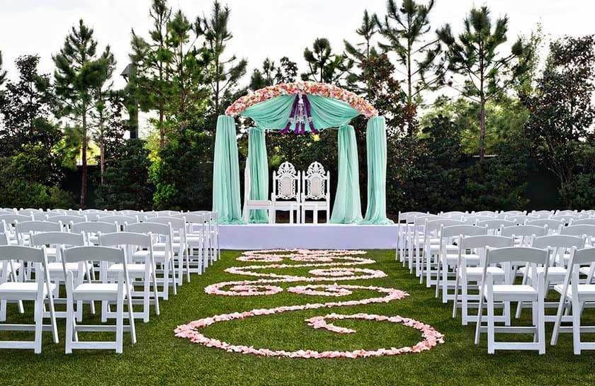 Hilton orlando fl wedding venues weddings at hilton orlando junglespirit Choice Image