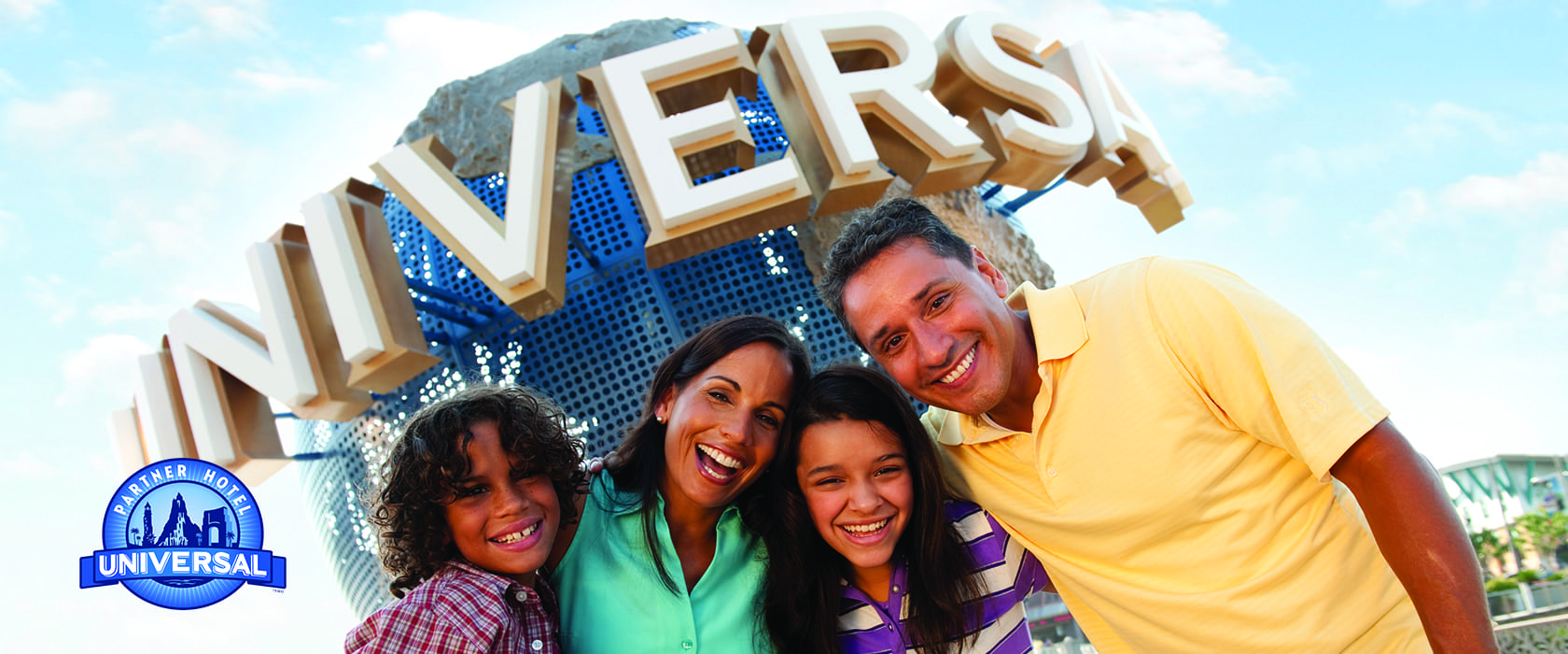 Universal Orlando™ Package Take your vacation to the next level. EXCLUSIVE EARLY ADMISSION PLUS  4TH NIGHT FREE