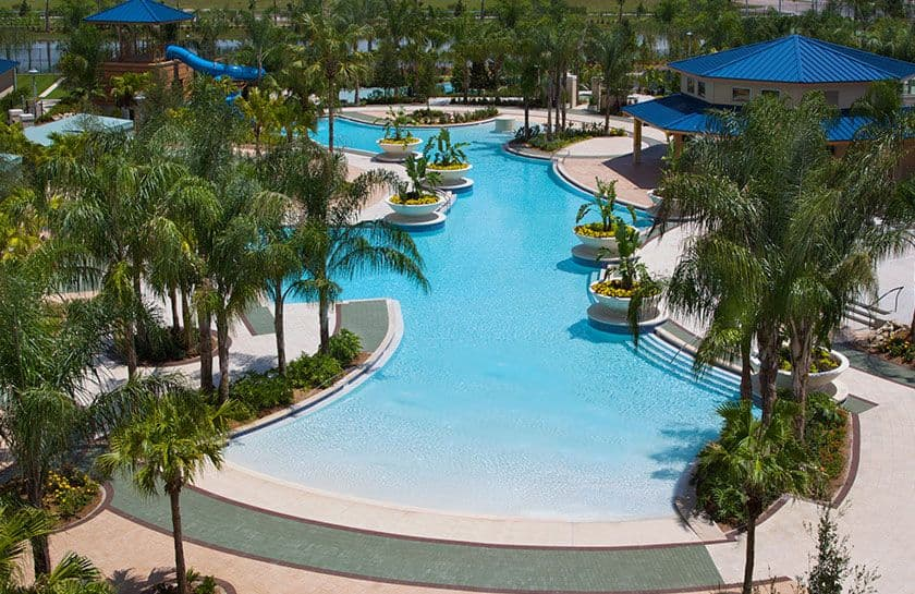 Pools Lazy River Recreation Hilton Orlando